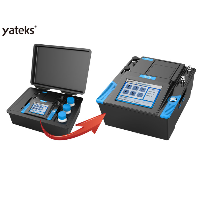 Portable particle counter of Oil monitoring