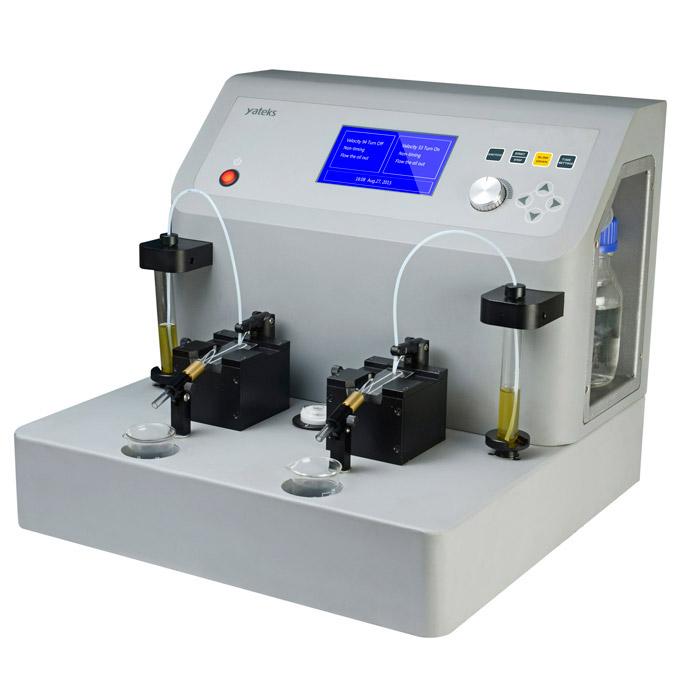 YTF-8 Oil Analysis of Dual Slide Analysis Ferrograph-2