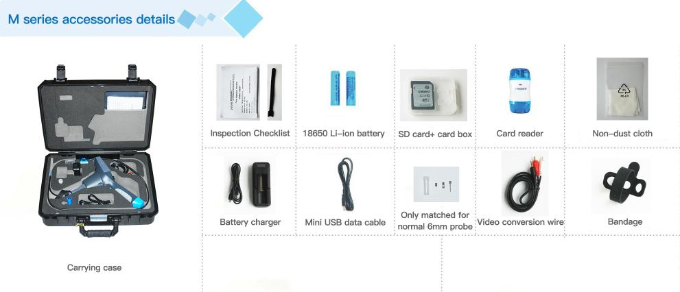 m series endoscope accessories