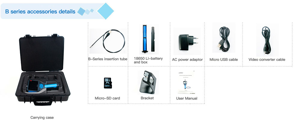 B-series-automotive-endoscope-spare-parts