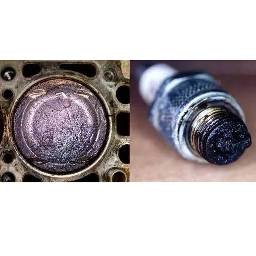 To inspect the piston and spark plug carbon
