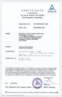 N-series-industrial-borescope-CE-certificate