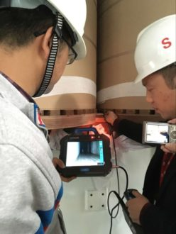 Endoscope Application Cases in the Power Industry 4