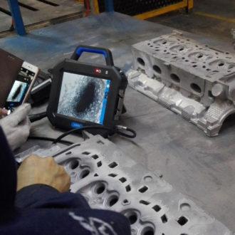 borescope-use-in-automobile-engine-aluminum-cylinder-head