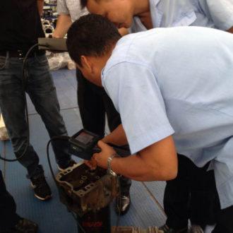 diesel engines borescope