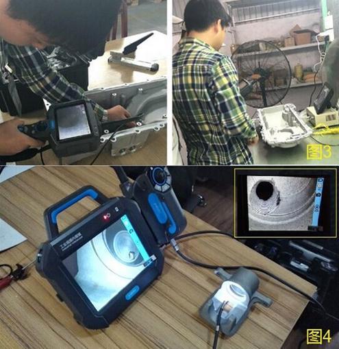 Automotive casting inspection