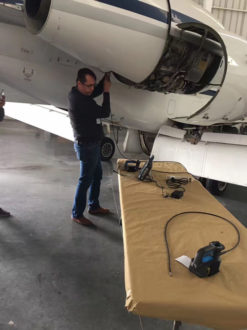 borescope-used-in-aviation-video-borescope-system