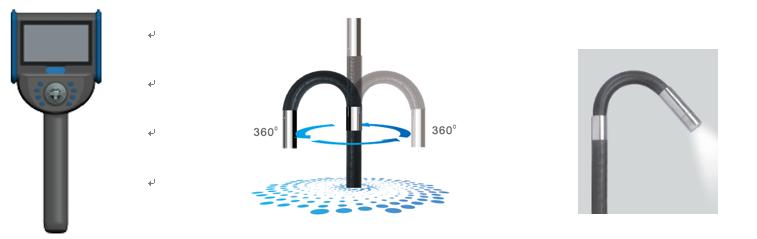 Dual-light Borescope for Police Use 3