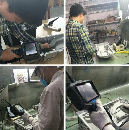 the application of borescope inspection in metal casting