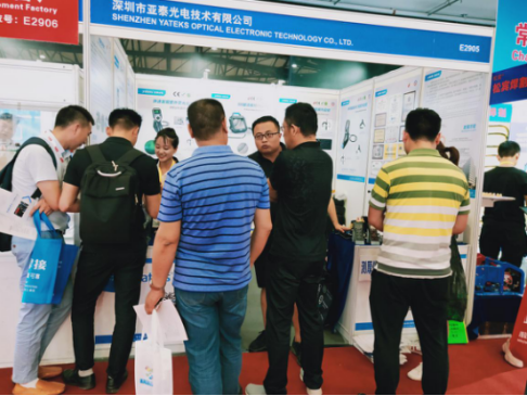 Yateks carried the P series industrial endoscope, R portable double-light series endoscope, ME series mechanical endoscope debut at the exhibition (Booth No.: E2905), showing the perfect applications effect of Yateks industrial endoscope and the need to use industrial endoscopes in the welding industry. At the exhibition, Yateks industrial endoscope products attracted the attention of visitors and the media. After the visitors experienced the products, they appreciated the practical design of them and thought highly of them. Yateks booth is filled with audiences who consult and exchange products on site.
