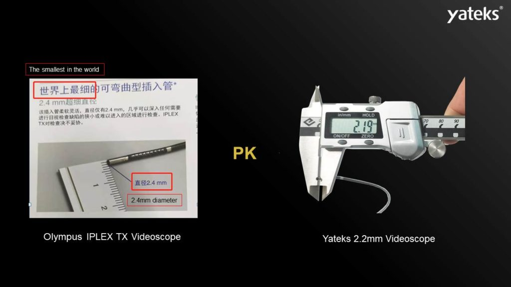 World's Smallest endoscope camera with 2.2mm 5