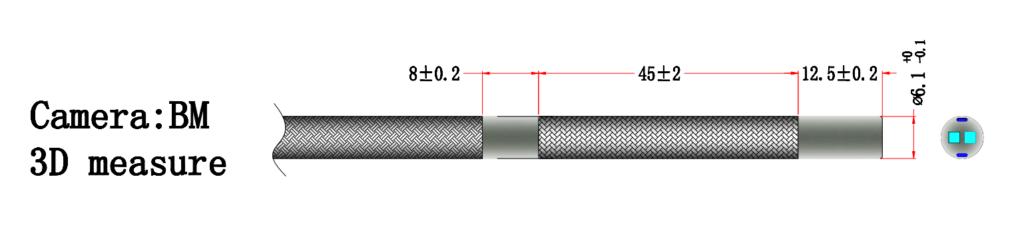 yateks 3D endoscope image