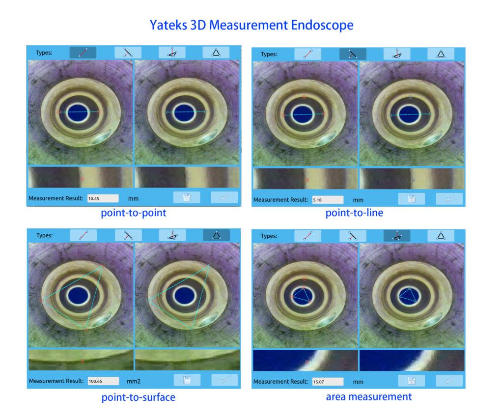 yateks 3D measurment endocope