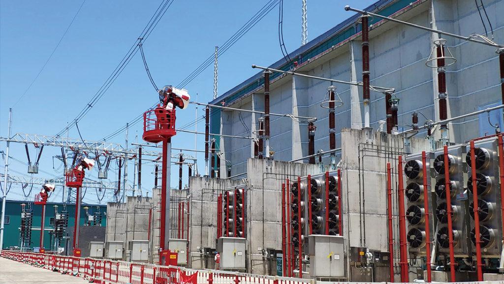 industrial borescope in the field of power engineering